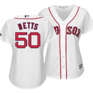 94f17443a Boston Red Sox Mookie Betts Majestic MLB Women's Cool Base Player Replica  Jersey